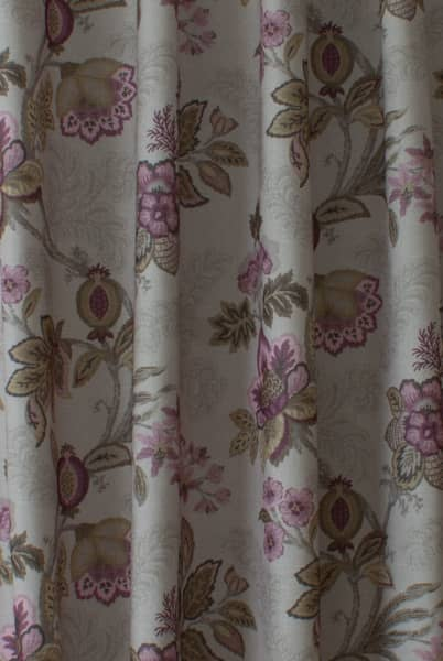 Leathan Mulberry Roman Blinds
