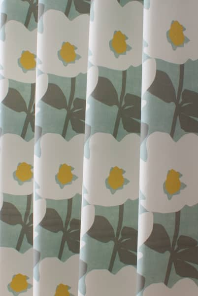 Bermondsey Duck Egg Curtain Fabric
