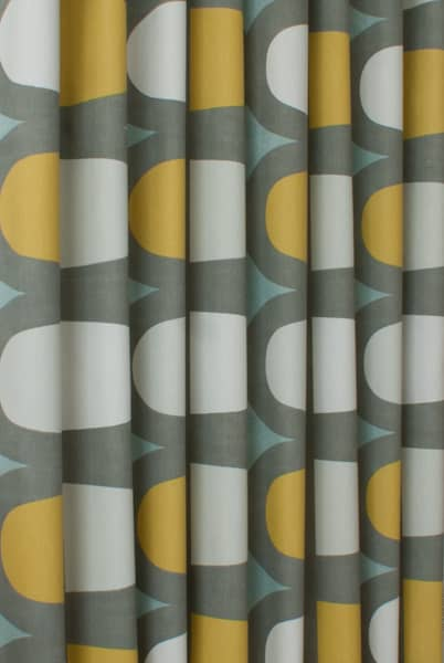 Docklands Duck Egg Curtain Fabric
