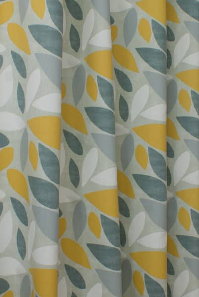 Pimlico Saffron Curtain Fabric