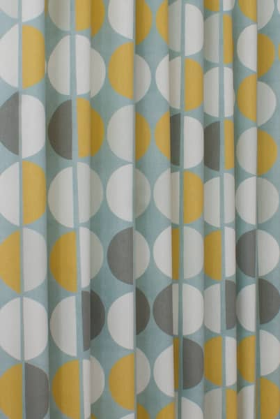 Shoreditch Duck Egg Curtain Fabric