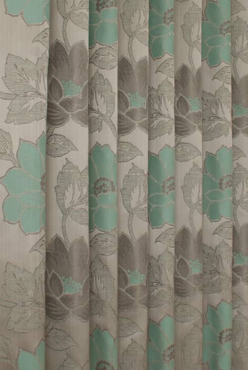 Lorton Azure Curtain Fabric