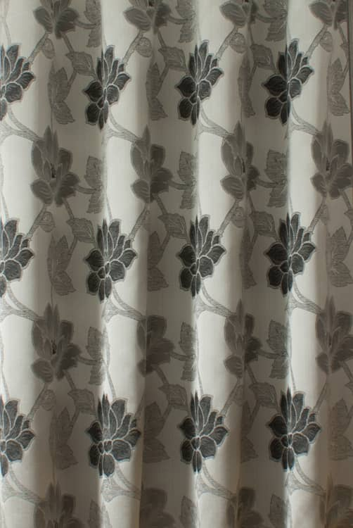 Lorton Charcoal Made to Measure Curtains