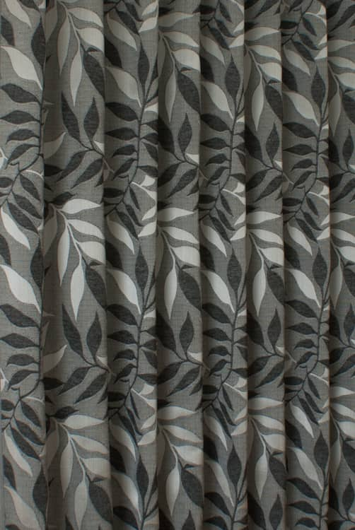 Grasmere Charcoal Roman Blinds