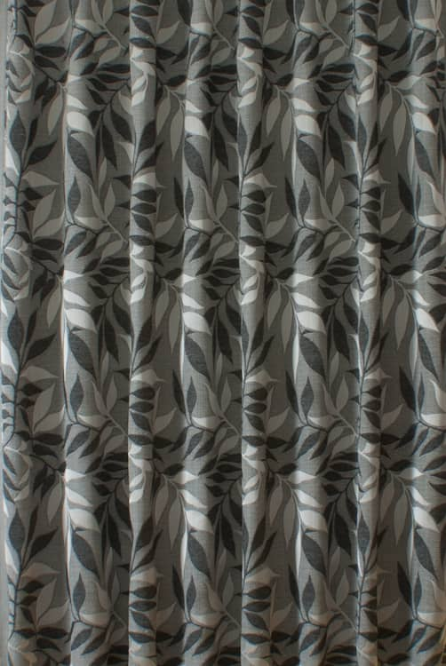 Grasmere Charcoal Curtain Fabric