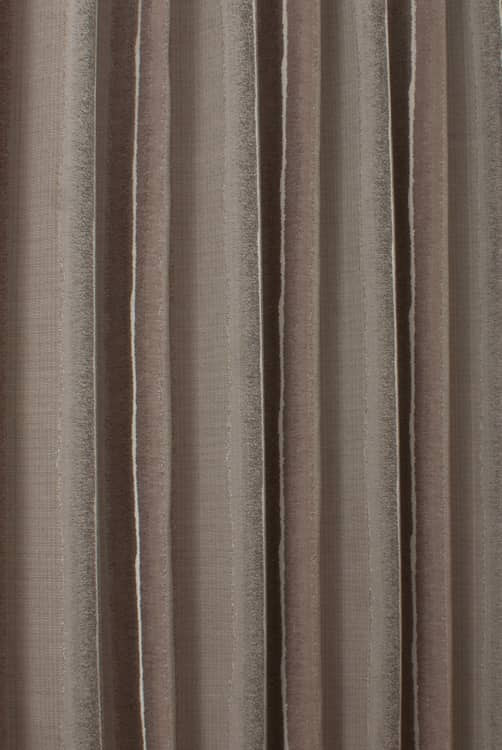 Bampton Mocha Curtain Fabric