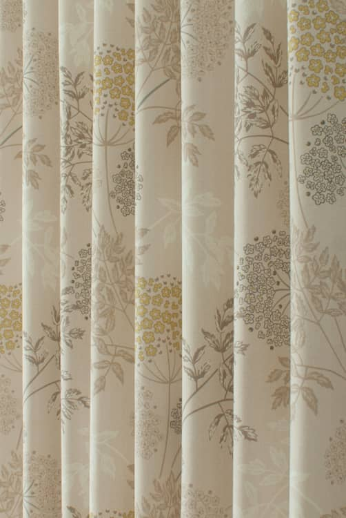 Elland Mimosa - Curtain Fabric