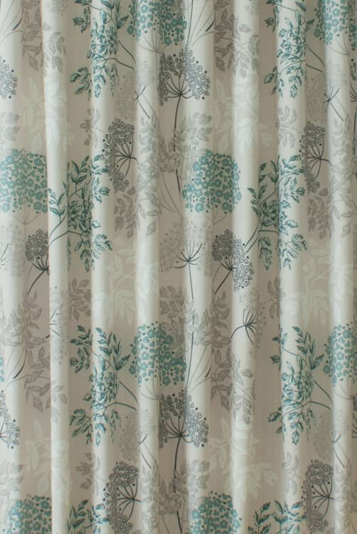 Elland Teal Made to Measure Curtains