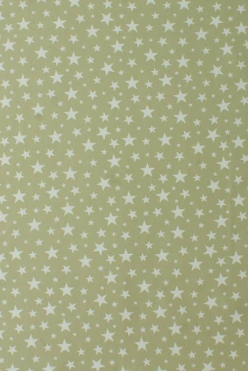 Apollo Stars Soft Green Curtain Fabric