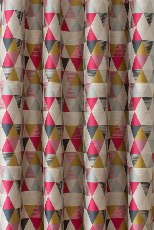 Belize Pink - Curtain Fabric
