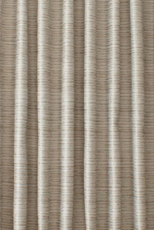 Cali Grey & White Curtain Fabric