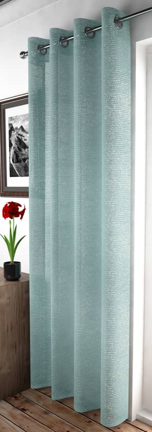Adele Duck Egg Voiles & Voile Panels