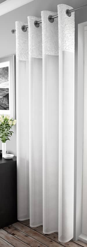 Madeira White Voiles & Voile Panels