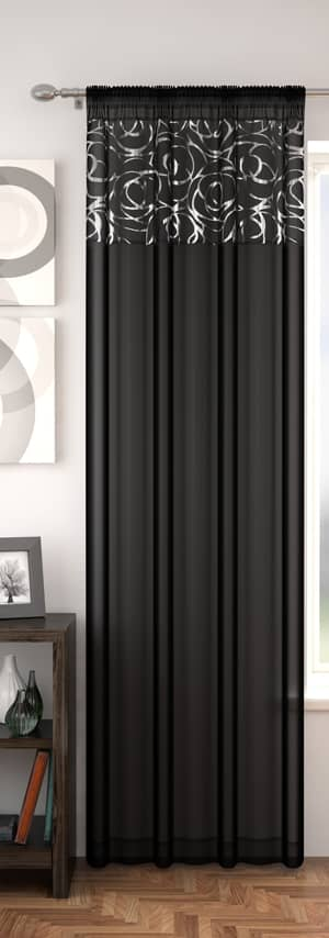 Arran Black Voiles & Voile Panels