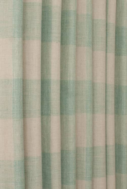 Colima Teal Roman Blinds