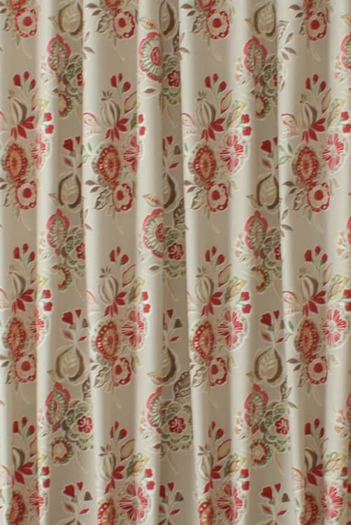 Mirabelle Sienna Curtain Fabric