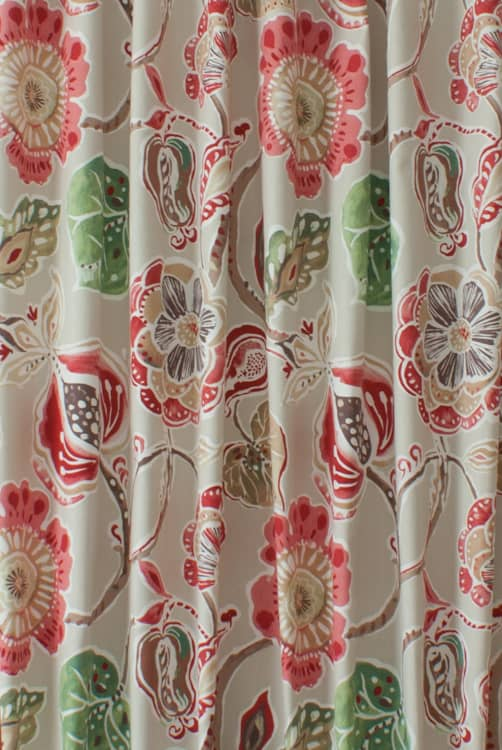 Lamorna Sienna Made to Measure Curtains