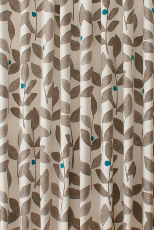 Burdock Teal Made to Measure Curtains