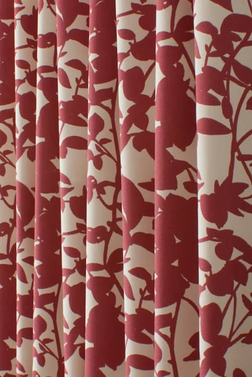 Salvador Red Roman Blinds