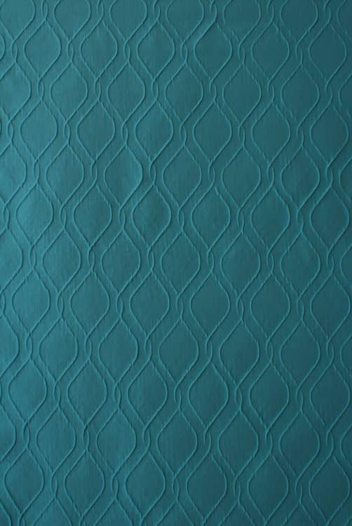 Mafra Teal - Curtain Fabric