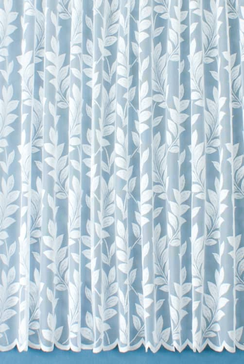 Woodton White Net Curtains by Colour