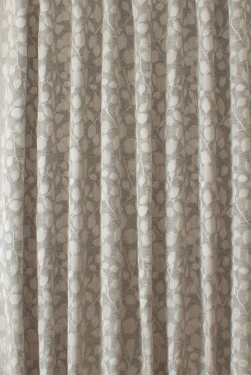 Postiano Slate Curtain Fabric