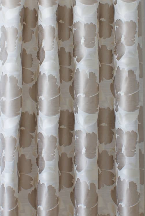 Capri Oyster Curtain Fabric