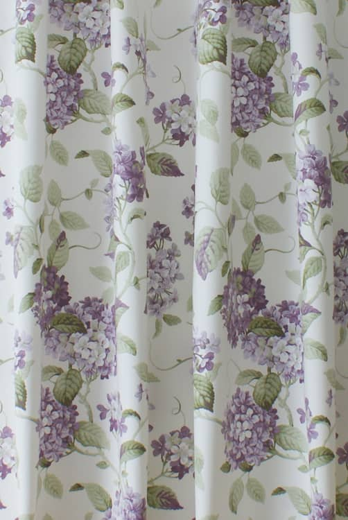 Highgrove Lavender Curtain Fabric