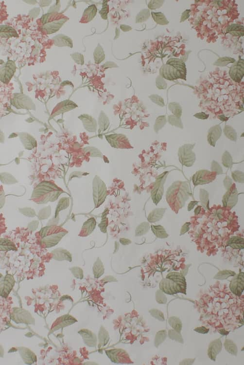 Highgrove Rose Roman Blinds