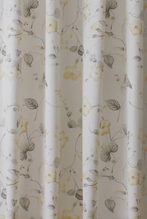 Henley Lemon Curtain Fabric