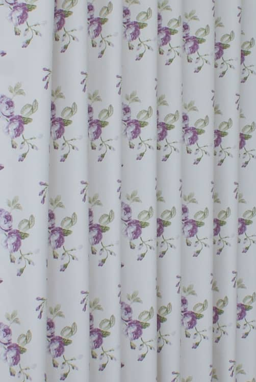 Clarence Lavender Curtain Fabric