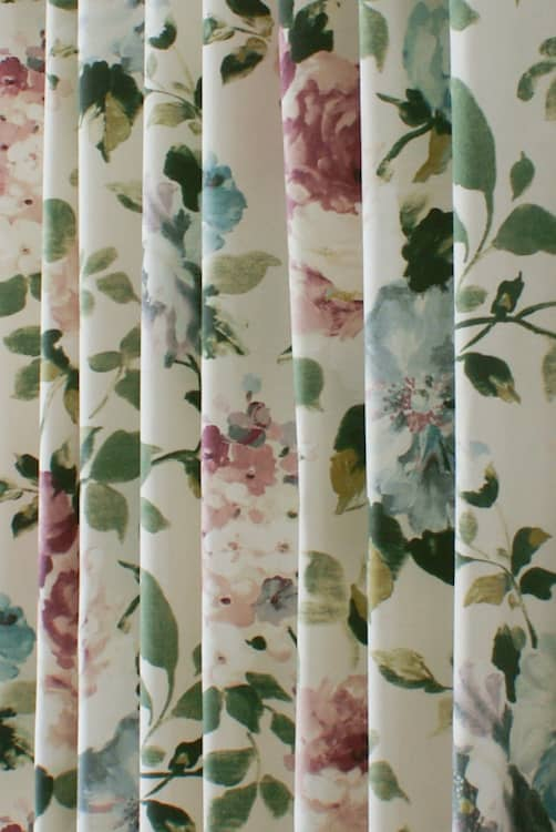 Langford Rosehip Roman Blinds