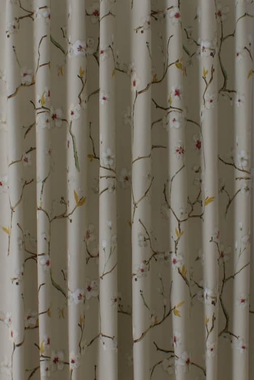 Emi Apricot Curtain Fabric