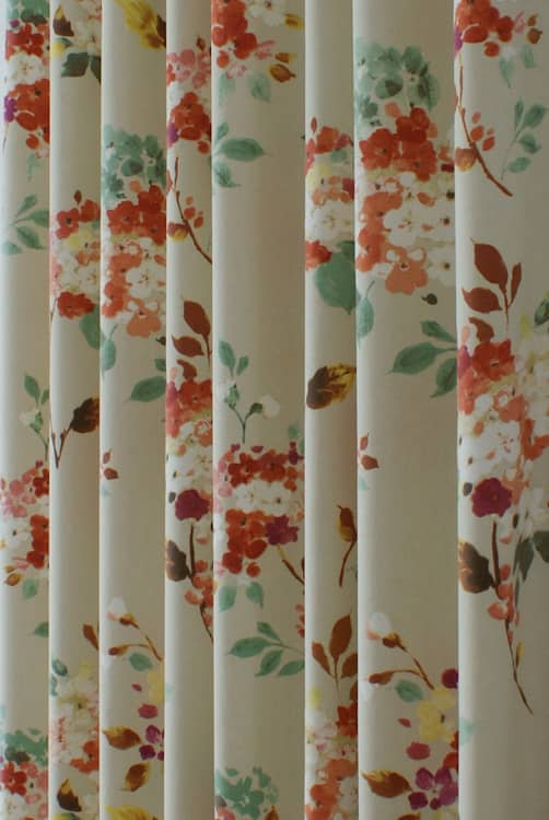 Merewood Apricot Made to Measure Curtains