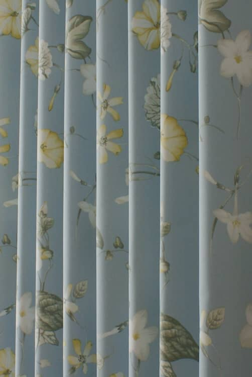 Henley Forget Me Not Roman Blinds