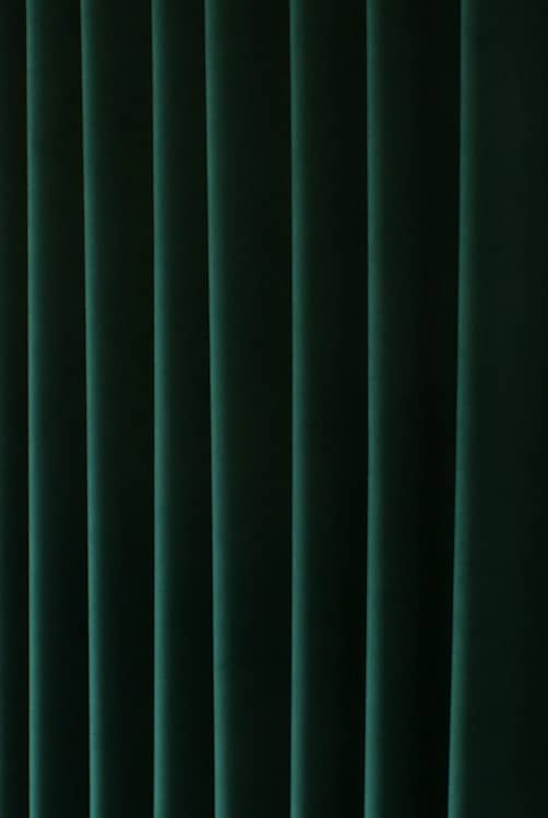 Alaska Velvet Emerald Curtain Fabric