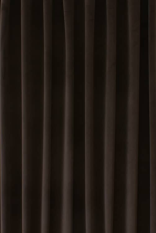Alaska Velvet Espresso Made to Measure Curtains
