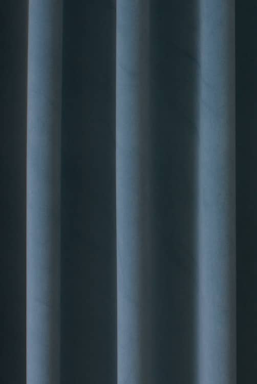 Alaska Velvet Powder Blue Curtain Fabric