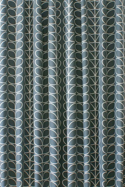 Linear Stem Cool Grey Made to Measure Curtains