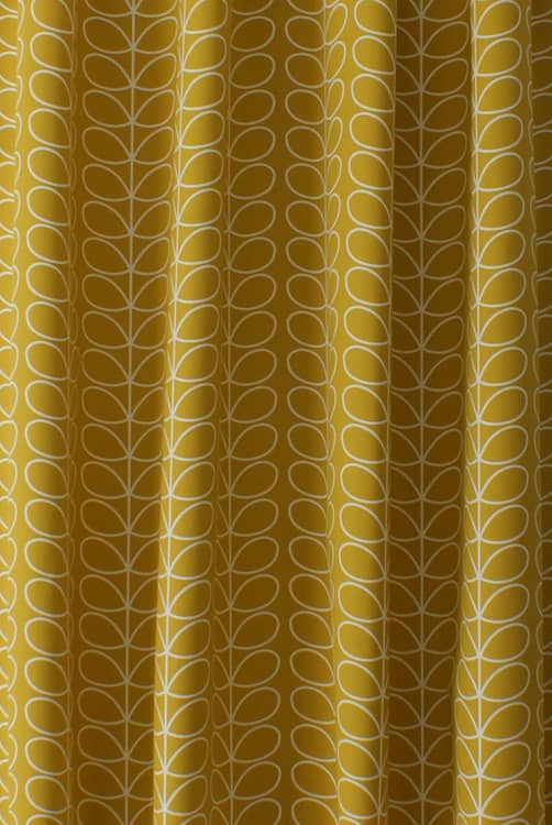 Linear Stem Dandelion Curtain Fabric