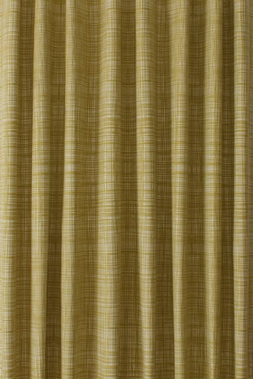 Scribble Olive Made to Measure Curtains