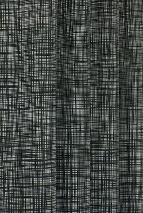 Scribble Gunmetal Made to Measure Curtains