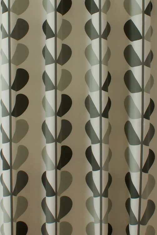 Multi Stem Warm Grey Roman Blinds