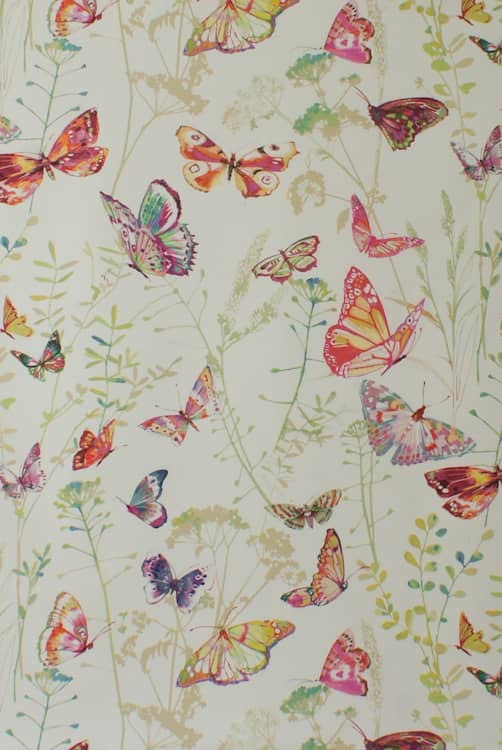Admiral Blossom Curtain Fabric