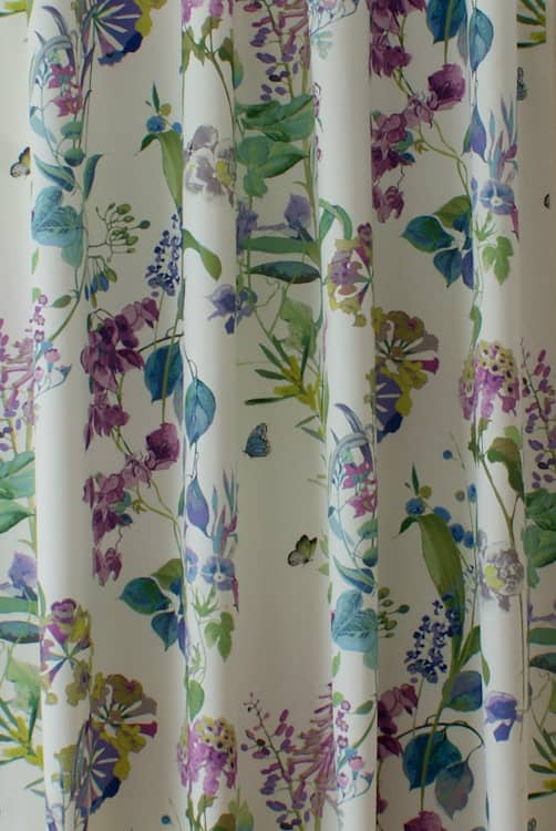 Bougainvillea Wisteria Made to Measure Curtains