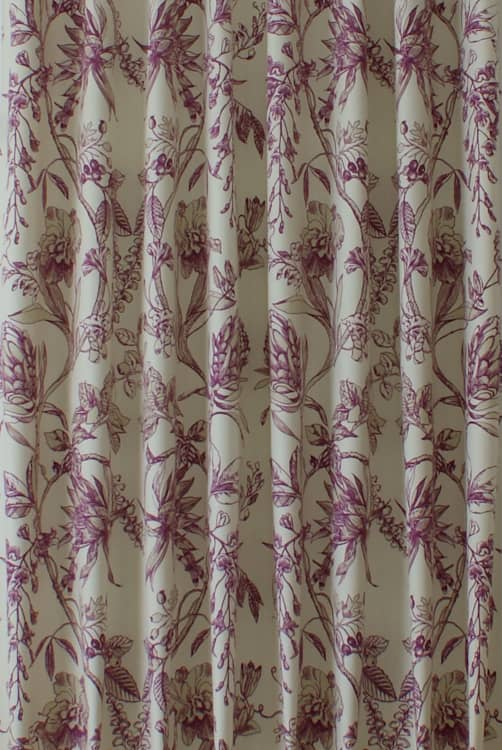 Linley Garnet Made to Measure Curtains