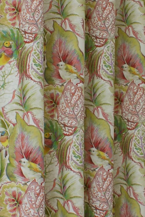 Lovebirds Blossom Made to Measure Curtains