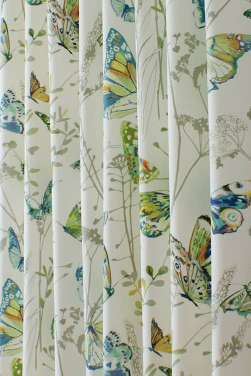 Admiral Waterfall Curtain Fabric