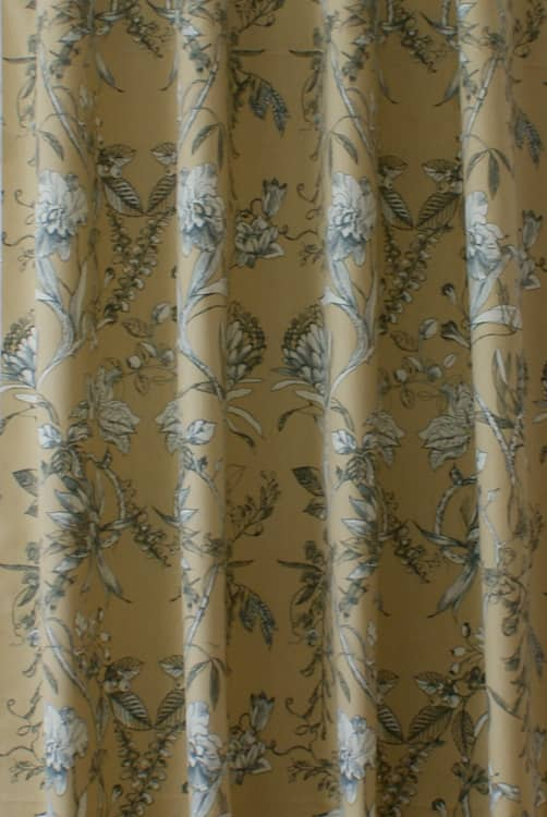Linley Chambray Curtain Fabric