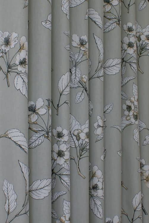 Cherry Blossom Vellum Curtain Fabric